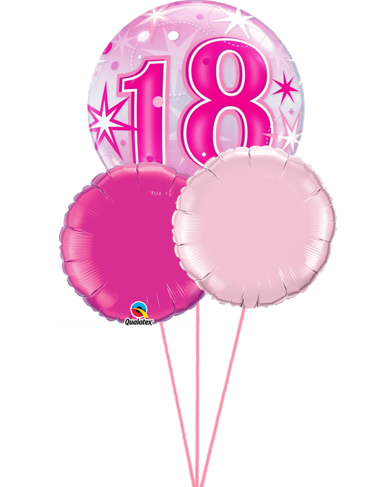 18th Birthday Balloons With FREE Delivery